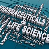 pharmaceutical & life sciences graphic