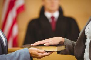 Witness-swearing-on-bible