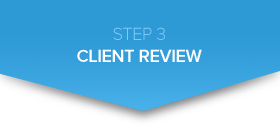step-3 client review graphic